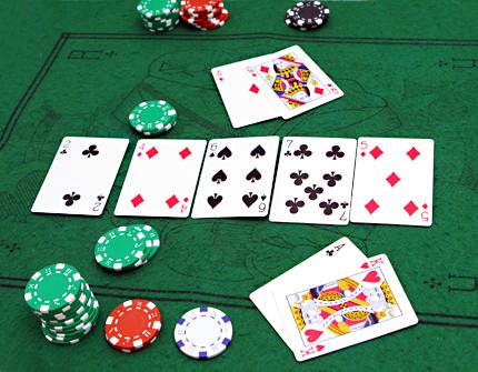 jogar poker
