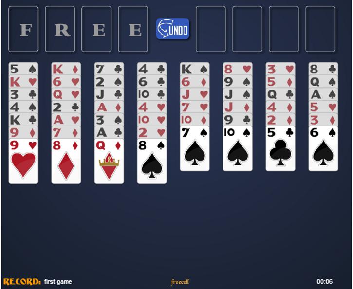 jogos de cartas freecell gratis