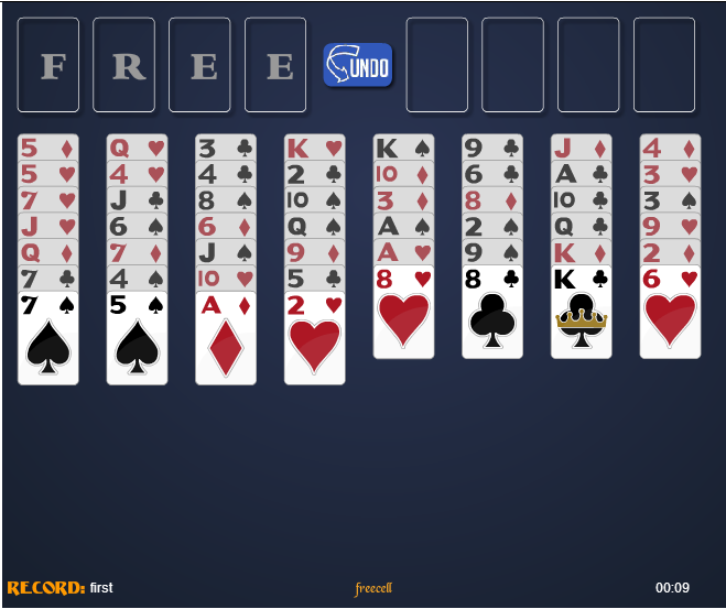 Paciencia Freecell Full