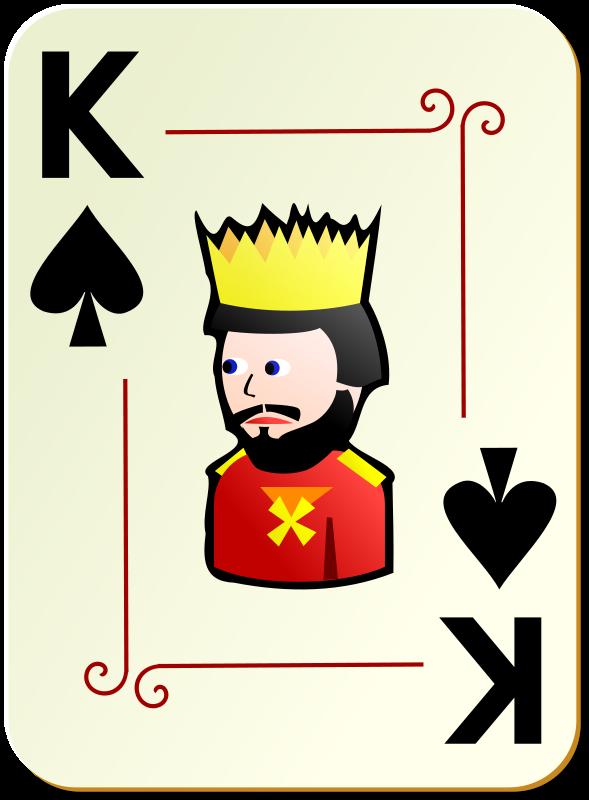 Rei de Espadas - Cartoon